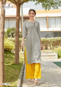 Celebration Vol-5 Rayon Kurti Set