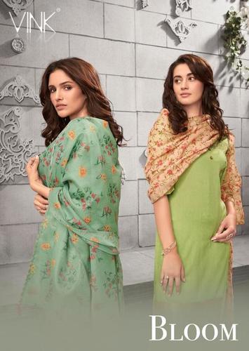 Bloom Viscose Zari Salwar Suits Set