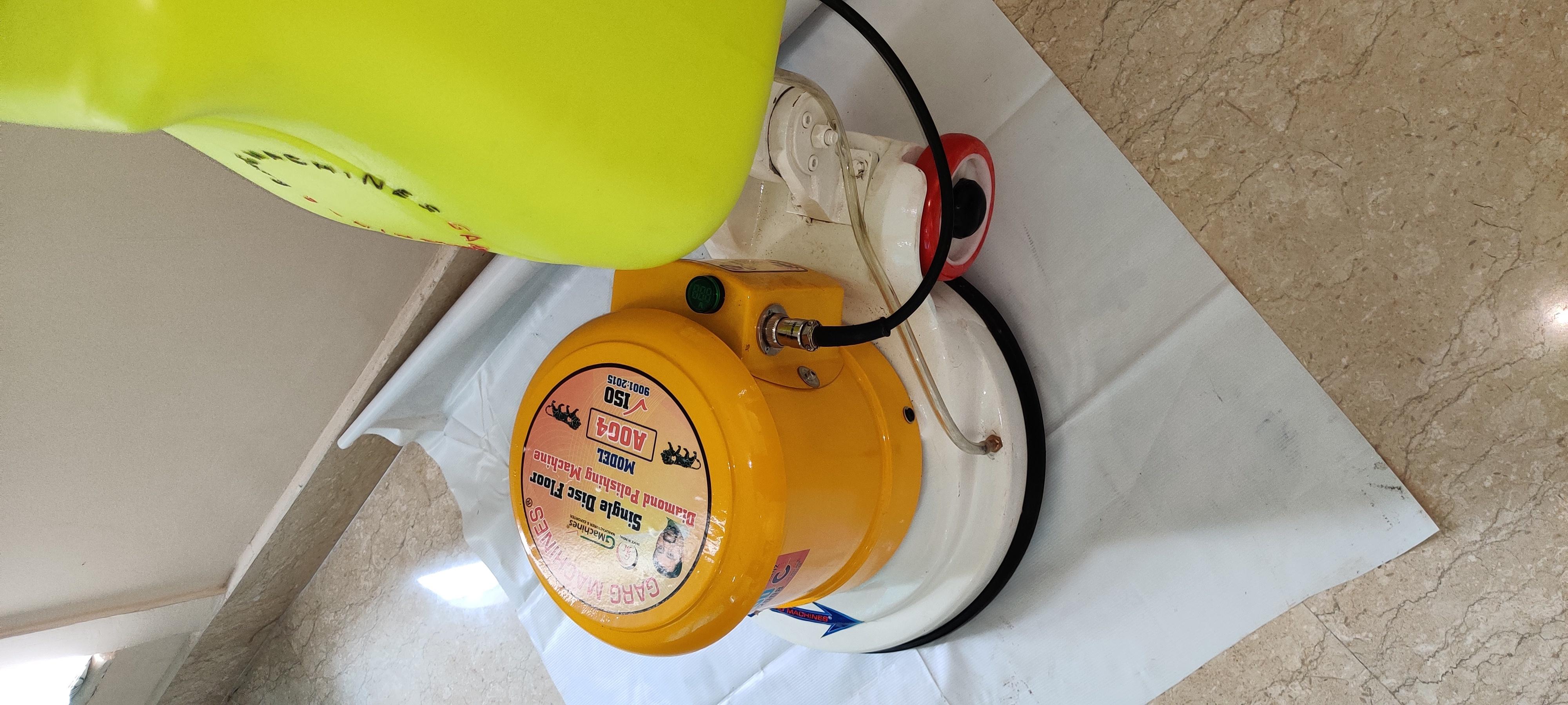 Single Disc Floor Polishing Machine