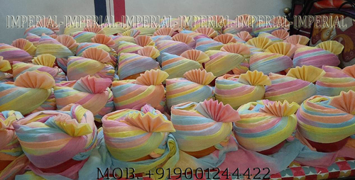 Pastel Color Shaded Jodhpuri Safa