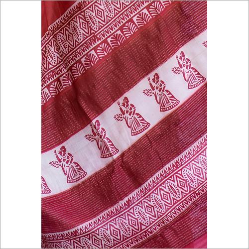 Bishnupri Print Silk Sarees