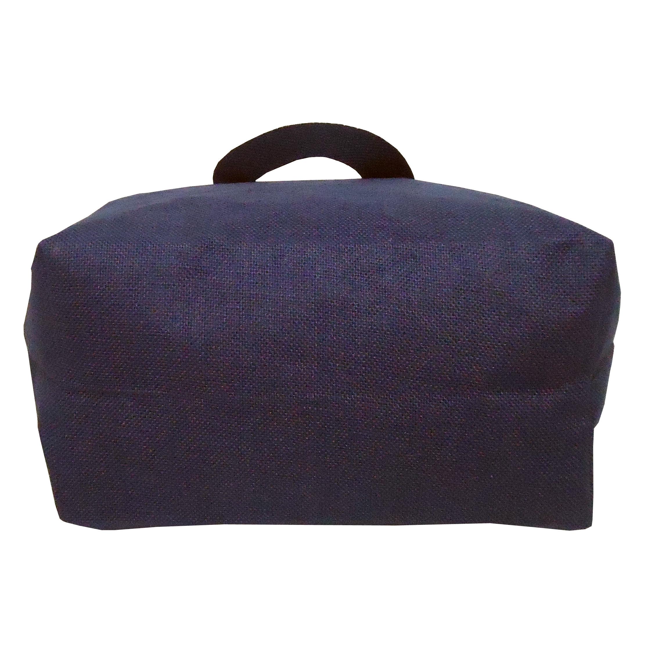 PP Laminated Jute Tote Bag With Zip Closure
