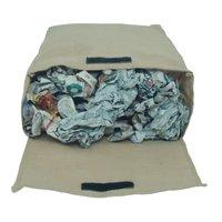 Non Laminated Jute Bag With Velcro Closure