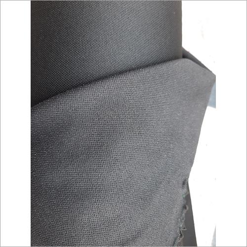Black Double Dot Strecth Lycra Fabric