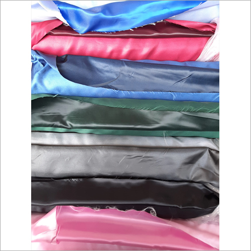 Suit Lining Plain Satin Aster Fabric