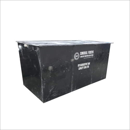 FRP Bio Dust Container Tank