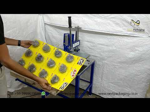 Automatic Scrubber Packaging Machine MANUAL PACKING