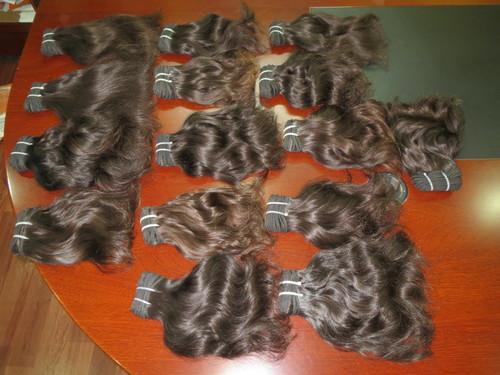 10a 9a Grade Unprocessed Indian Human Hair Bundles