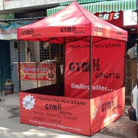 Foldable Display Stall