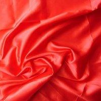 Red Chilli Satin Fabric