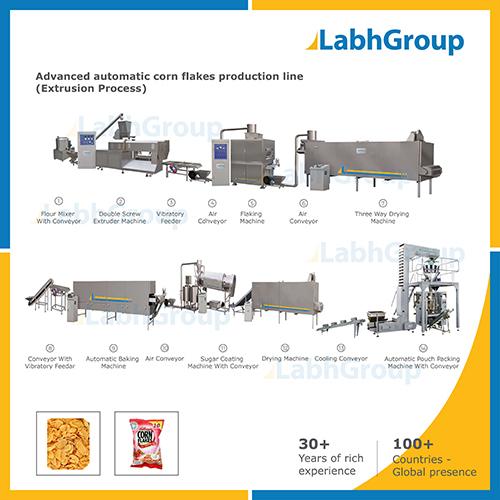 Corn Flakes Manufacturing Machines