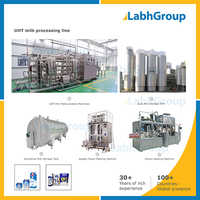 Uht Dairy Milk Making Machine - Processing Plant