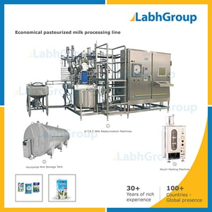 Economical Small Pasteurized Dairy Milk Processing Plant