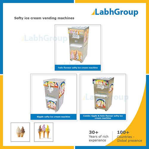 Softy Ice Cream Vending Machines