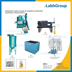 Cotton Seeds Oil Extraction Expeller Machine