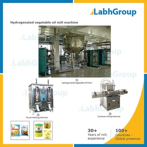 Hydrogenated Vegetable Oil Mill Machine - Production Plant