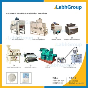 Rice Flour Making Machines - Production Mill