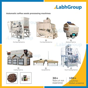 Coffee Seeds Cleaning & Processing Machines
