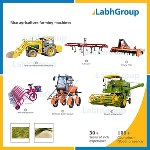 Rice Agriculture Farming Machines
