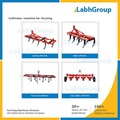 Cultivator Machine For Farming