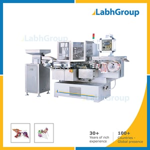 Double Twist Packing Machine For Ball Lollipop