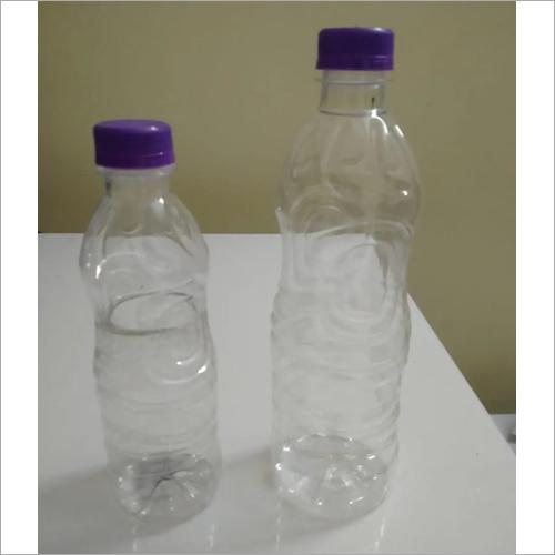 White Plastic Pet Water Bottle