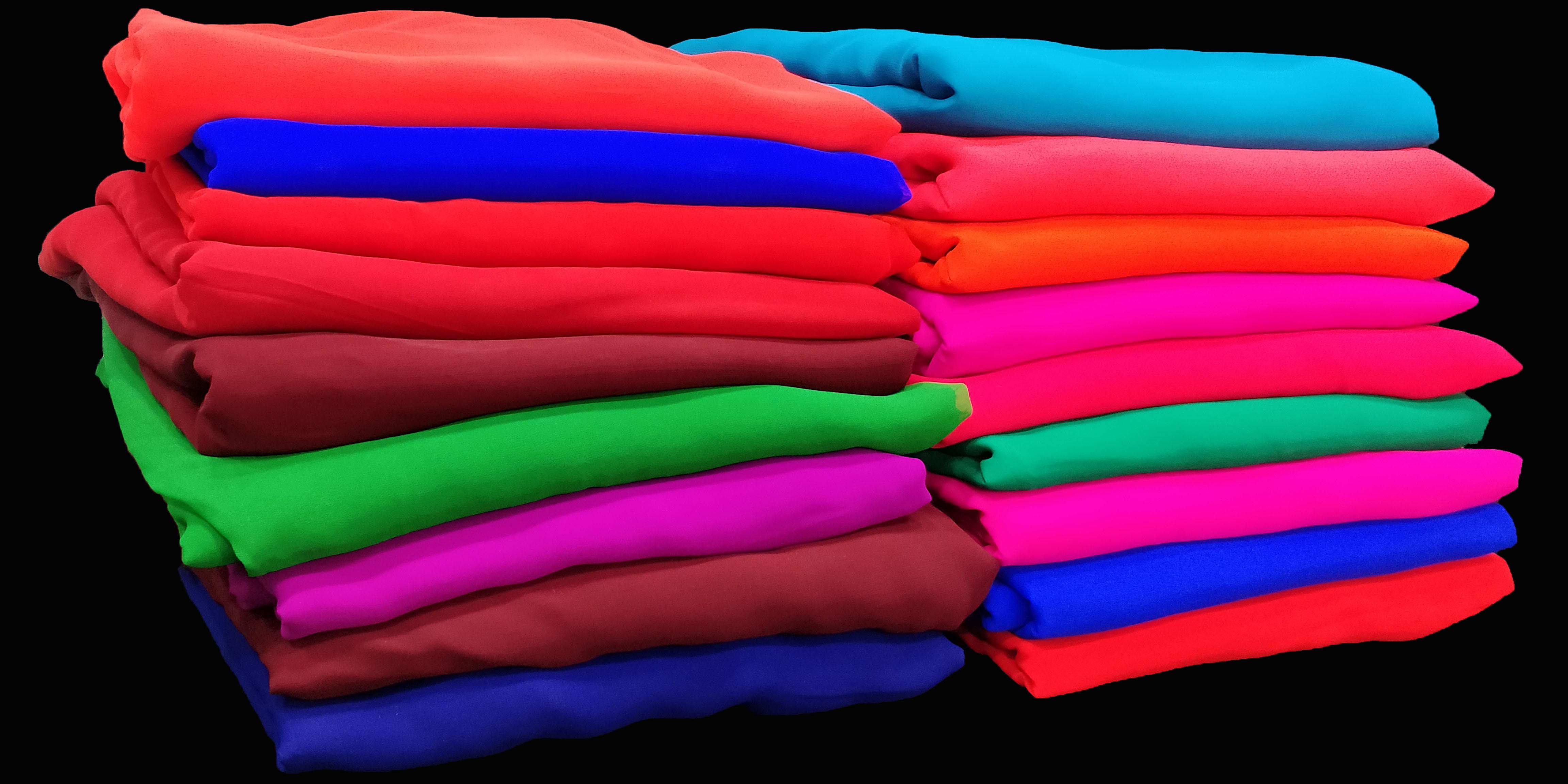 60 Gram Georgette Fabric