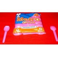 TIKKI Pink Disposable Spoon