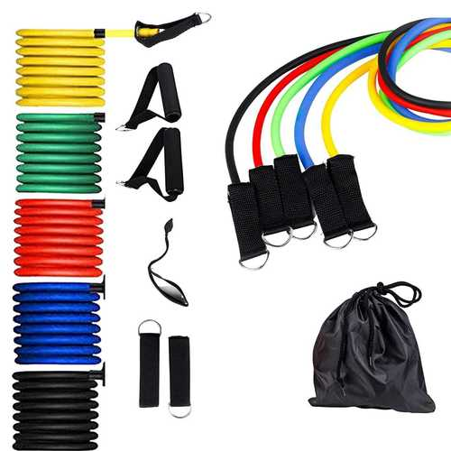 Kd Resistance Band Set Of 5 Level Tubes