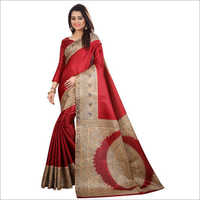 Ladies Kalamkari Saree