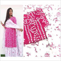 Ladies Printed Kurta With Dupatta