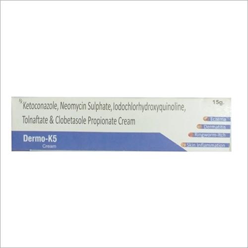 Ketoconazole Neomycin Sulphate Iodochlorhydroxyquinoline Tolnaftate And Clobetasole Propionate Cream