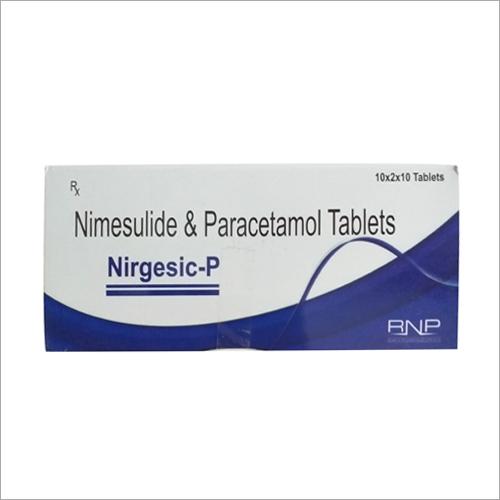 Nimesulide And Paracetamol Tablets