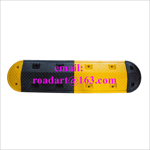 Roadart Rubber Speed Hump