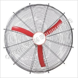 Roof Top SILVER AND RED Ventilation Fan