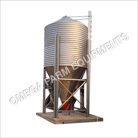 Galvanized Steel Bulk Feed Silo