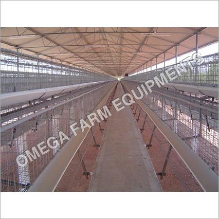 Mild Steel Broiler Breeder Poultry Cage