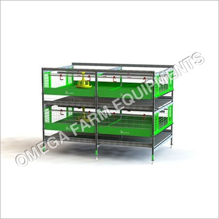 Mild Steel Broiler Chicken Battery Cage