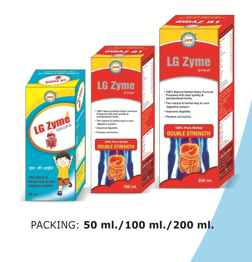 LGH  Zyme Syrup & Drops