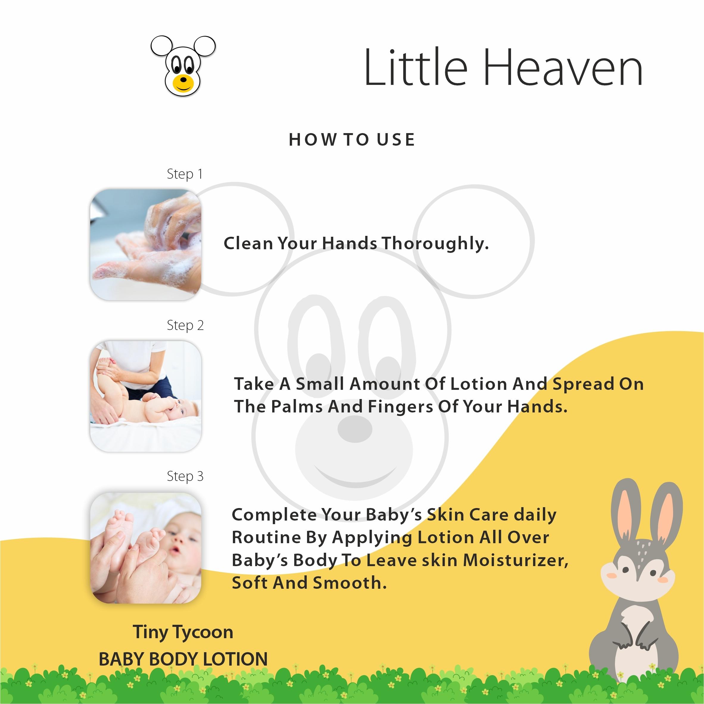250 ml Tiny Tycoon Paris Baby Body Lotion