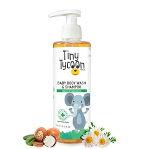 Tiny Tycoon Paris Baby Body Wash And Shampoo (Germ Protection) 250 ml