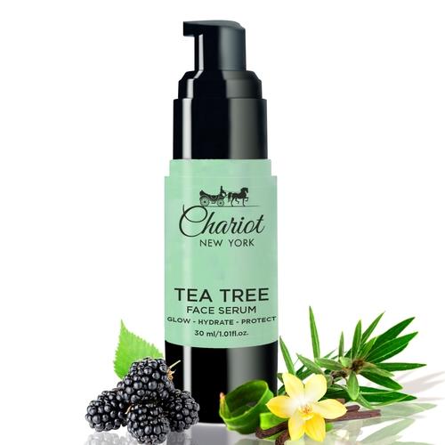 Chariot New York Tea Tree Face Serum For Men and Women 30 ml