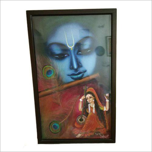 Meera Bai Handmade Oil Painting
