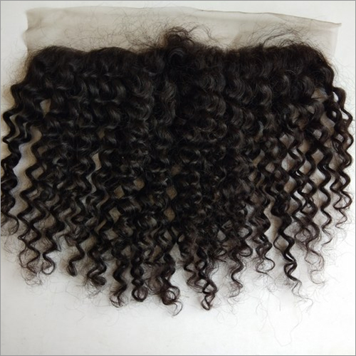 Steam Curly Frontal Raw hair