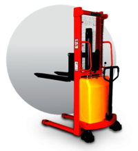Semi Electric Hydraulic Stackers