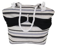 PP Laminated Jute Beach Bag With Sarong & Twisted Rope Handle