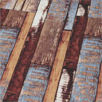 Ripped Wooden Flooring