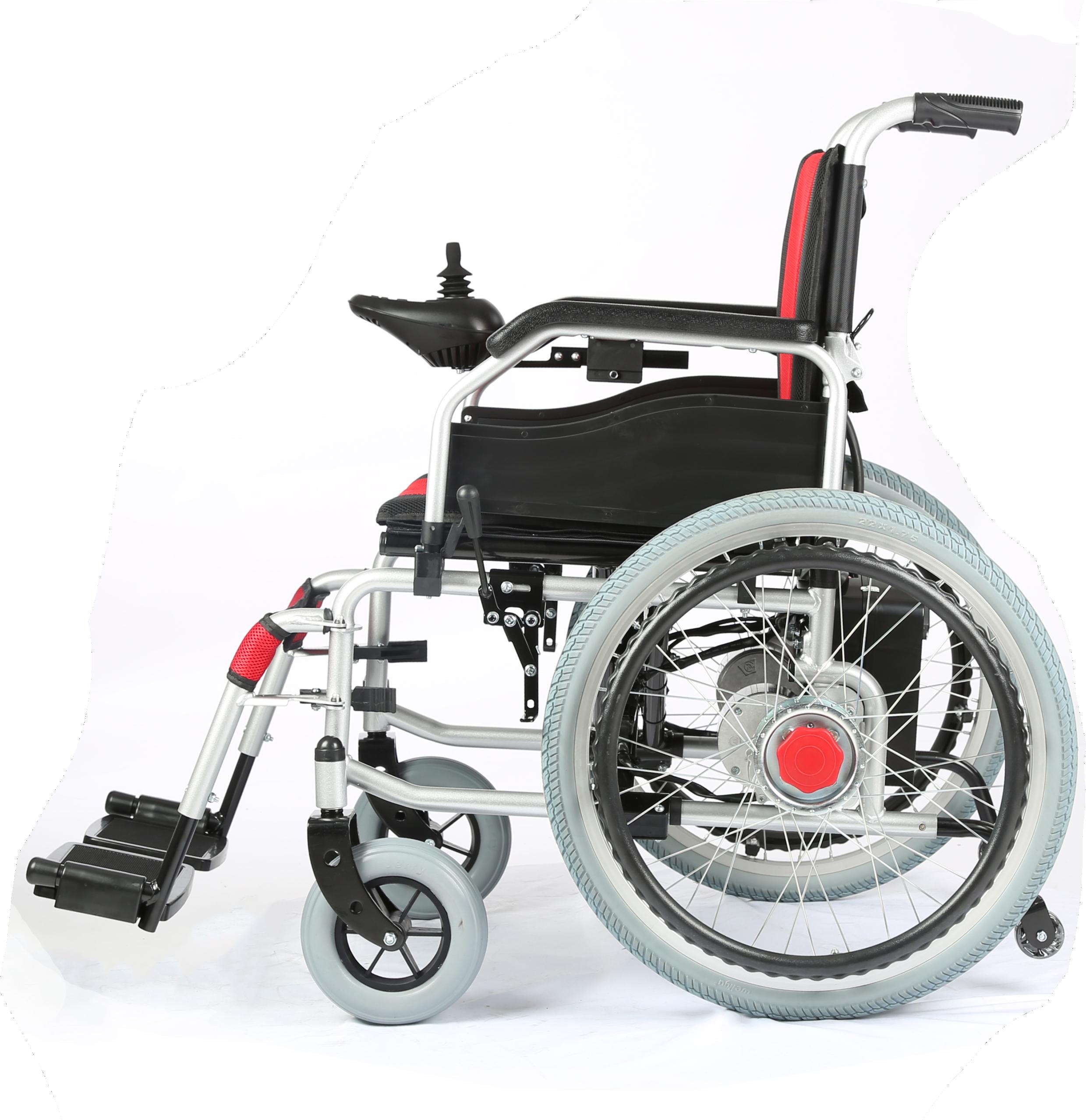 Evox-101E -Electric Power Wheelchair with Electromagnetic Break