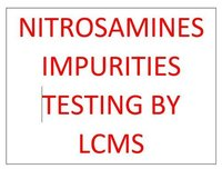 Nitrosamines Impurities Testing by LCMS