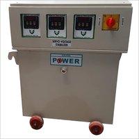 Trolley Mounted Servo Voltage Stabilizer